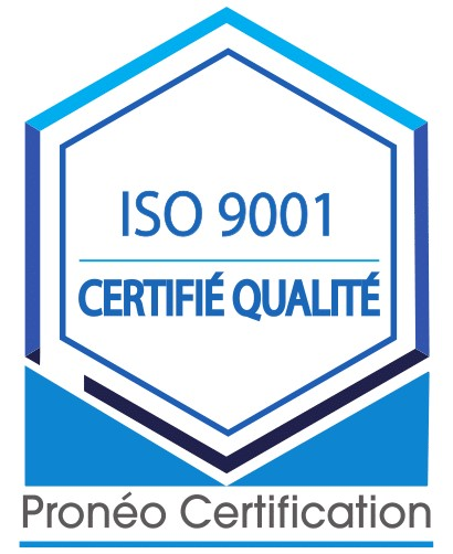 Logo officiel ISO 9001-2